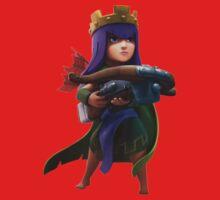 Archer Queen Clash of Clans Art Kids Clothes