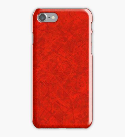 Red-Lines iPhone Case/Skin