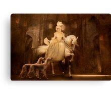 Rococo Ride Canvas Print