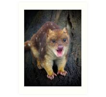 Happy Quoll Art Print