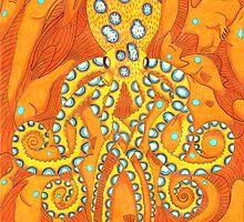 Blue-ringed Octopus by JohnMeszaros