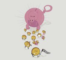 Piggy Bankzilla - Curb Your Coin Compulsion by o0OdemocrazyO0o