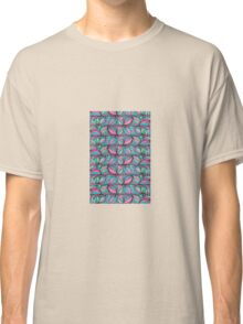 summer organic abstract pattern  Classic T-Shirt
