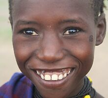 Joy in Lake Turkana by worldbiking