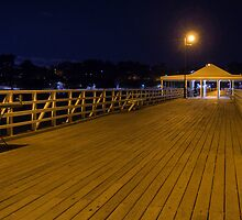 A night on the pier by Liza Yorkston
