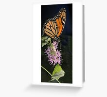 Vertical Monarch Greeting Card