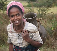 Woman at Work, Ethiopia by worldbiking