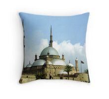 Mosque of Muhammad Ali Throw Pillow