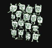 Greenies Transparent One Piece - Short Sleeve
