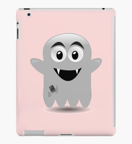Cute Ghost Monster by 'Chillee Wilson' iPad Case/Skin