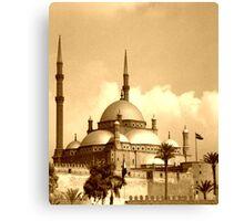 Mosque of Muhammad Ali (Sepia) Canvas Print
