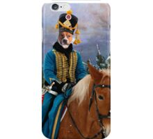 American Staffordshire Terrier Art - The Campaign Napoleon and his army iPhone Case/Skin