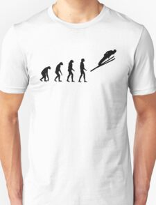Evolved to Skiing T-Shirt