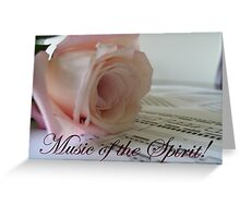 Music of the Spirit Greeting Card