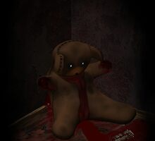 Toy Bear Suicide by mdkgraphics
