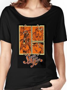 Steel Ball Run Volume 15 Cover Women's Relaxed Fit T-Shirt