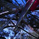 tree eats trolley eats tree by Tanisha Jowsey