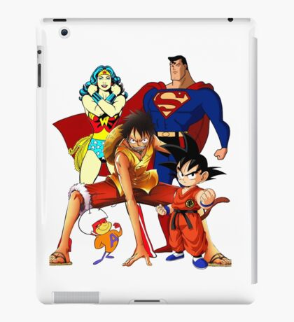 Super heroes iPad Case/Skin