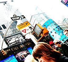 It's a New York kind of day by Amanda Pokoyoway