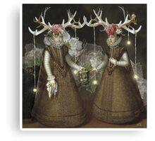 Dark Forest Daydream Canvas Print