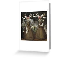 Dark Forest Daydream Greeting Card