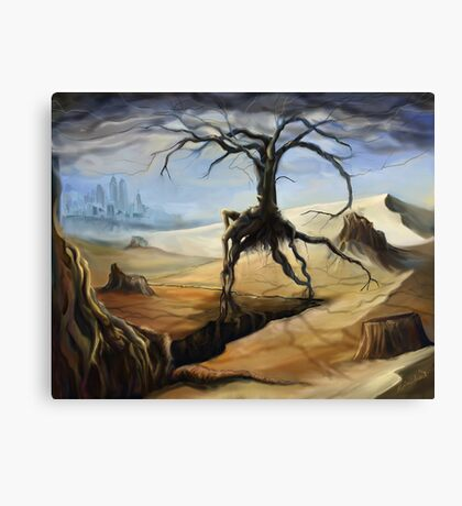 Emerging From a Parched Landscape Canvas Print
