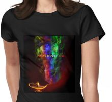 """I Dream of SPN"" - new Supernatural design! Womens Fitted T-Shirt"