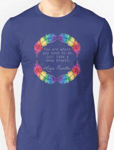 Lana Parrilla Quote (Light text) T-Shirt