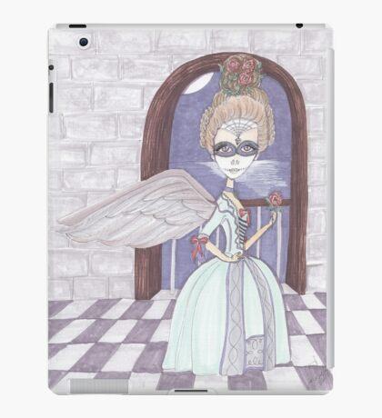Day of the Dead, Angel, big eyes fantasy art iPad Case/Skin