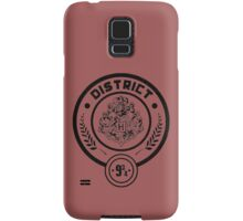 District 9 3/4 - Hunger Games/Harry Potter Samsung Galaxy Case/Skin
