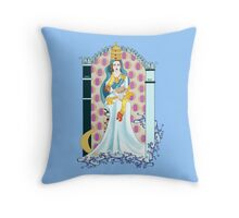 Tarot High Priestess Throw Pillow