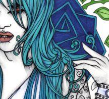 In Blue Sticker