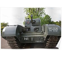 Churchill tank ,The Tank, Infantry, Mk IV (A22) was a British heavy infantry tank Poster