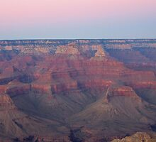Pastel colors over the canyon by N2Digital