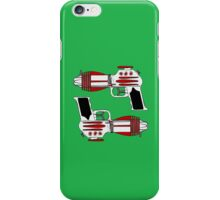 Retro Space Ray Guns by Chillee Wilson iPhone Case/Skin