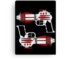 Retro Space Ray Guns by Chillee Wilson Canvas Print