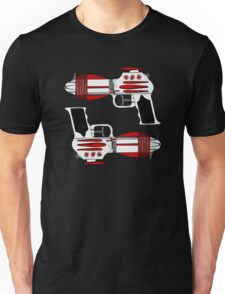 Retro Space Ray Guns by Chillee Wilson Unisex T-Shirt