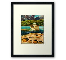 STORM OVER CLAREVILLE, NSW Framed Print