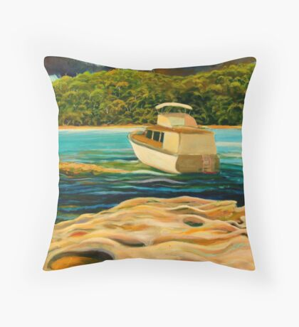 STORM OVER CLAREVILLE, NSW Throw Pillow