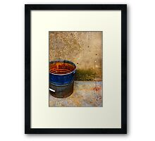Sicilian beauty from age......... Framed Print