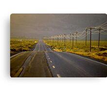 High Desert Highway Canvas Print