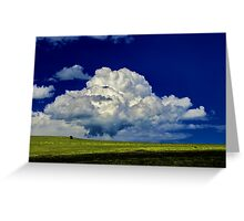 """The Little White Cloud That Cried"" Greeting Card"