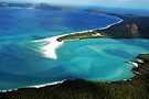 Cloud Shadows over the Whitsundays by Renee Hubbard Fine Art Photography