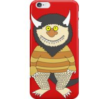 Friendly Monster iPhone Case/Skin