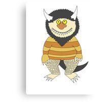 Friendly Monster Canvas Print
