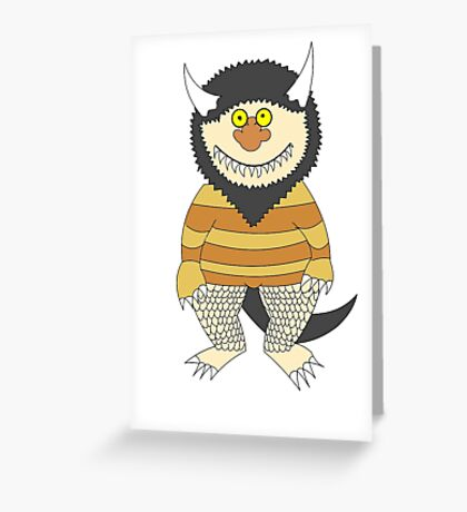 Friendly Monster Greeting Card