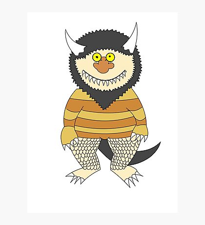 Friendly Monster Photographic Print