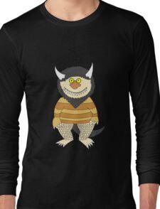 Friendly Monster Long Sleeve T-Shirt