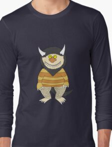 Friendly Monster Long Sleeve T-Shirt
