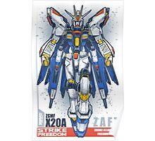 Strike Freedom Gundam Poster